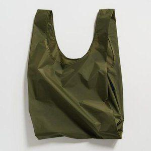 BAGGU Reusable Grocery Bag - Olive